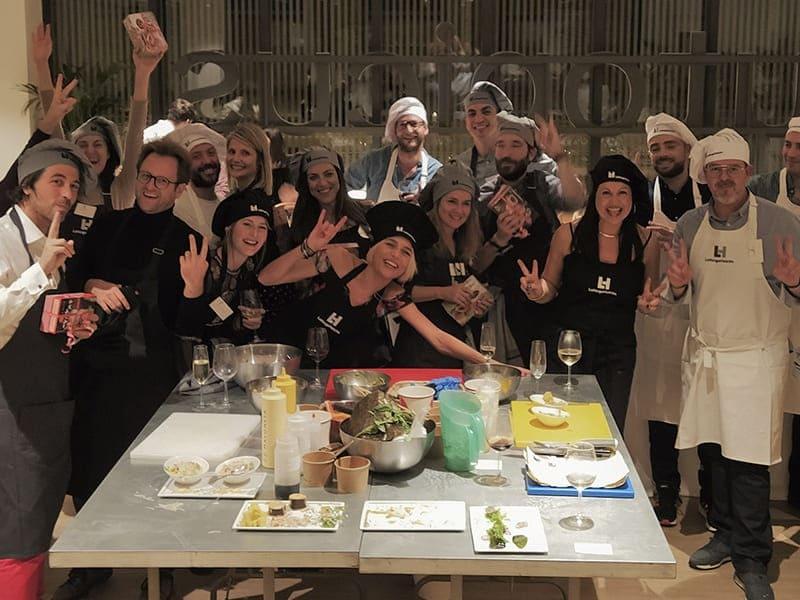 Gastronomic Team building activities