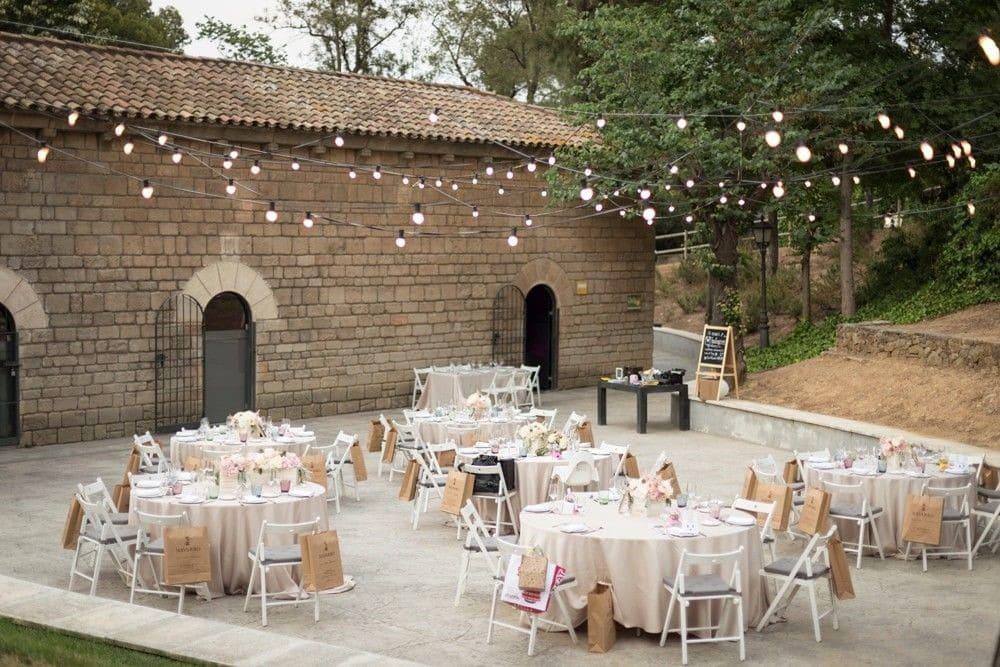 5 Espacios en Barcelona para celebrar tu boda al aire libre