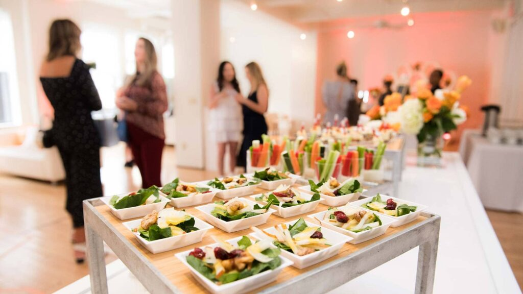 Catering para eventos a domicilio