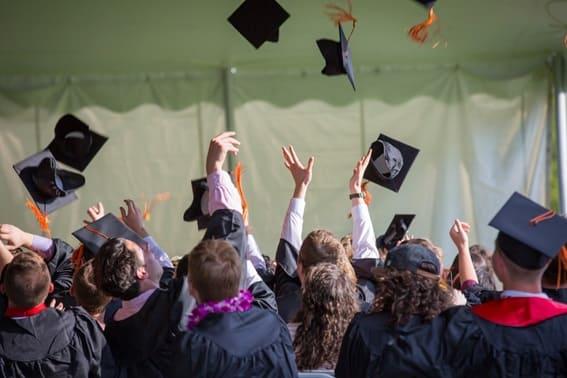 Fiesta de graduación de secundaria