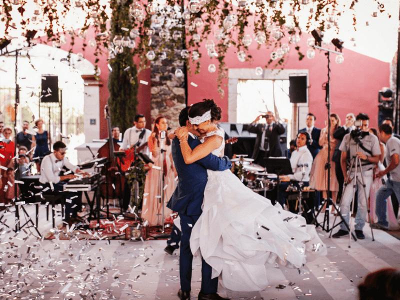 Partes de una boda