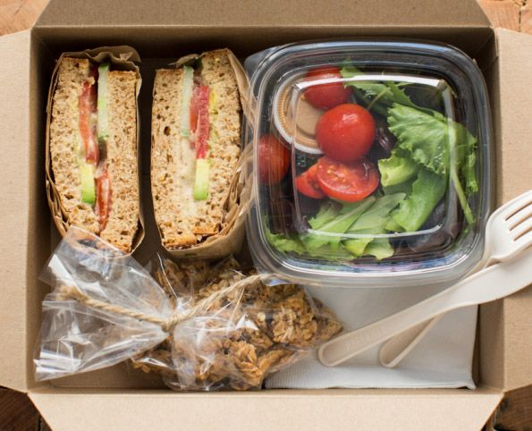 Lunch Box Catering Vegetariano